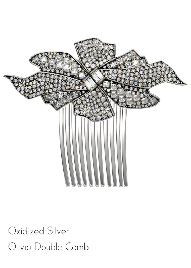 Olivia Double Clip Hair Comb - Jubilee Jones