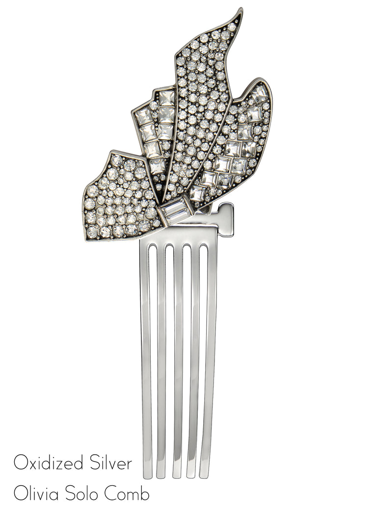 Olivia Solo Clip Hair Comb - Jubilee Jones