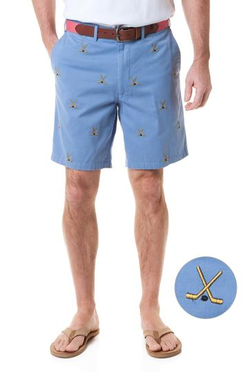 Special Sale  Men's Classic Embroidered Shorts Hockey Sticks
