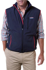 Men's Tidal Wind Vest by Castaway Clothing Navy