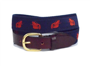 Mens Lobster ribbon belt is a must have for back yard clam bakes