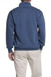 Castaway Clothing Men's Quarter Zip Pull Over Sweatshirt -Nantucket Navy| Designs by Lillie