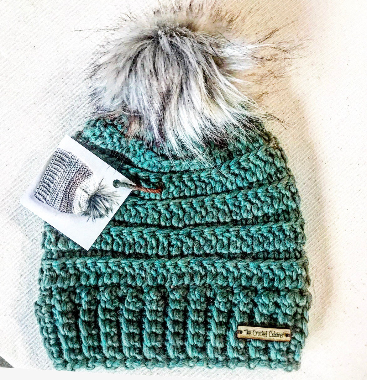 Child Lennox Beanie-Emerald