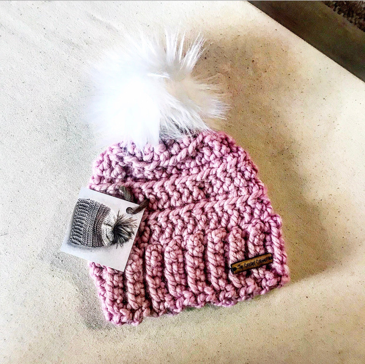 Infant Lennox Beanie-Blush