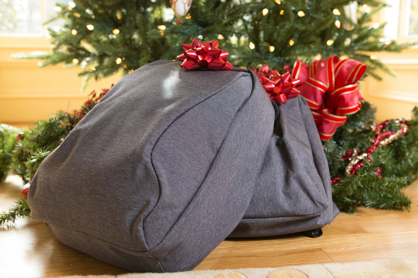 The laptop backpack. Reinvented.