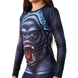 Break Point Gorilla Warfare Kid's Jiu Jitsu Rash Guard - Jitsu Armor