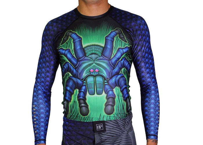 Break Point - Tarantula Jiu Jitsu Rash Guard - Jitsu Armor