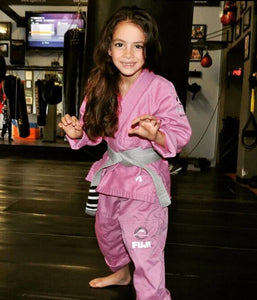 Fuji Kid's All Around BJJ Gi - Pink - Jitsu Armor