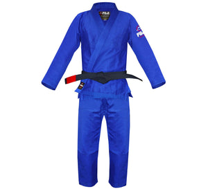Fuji - All Around Kids BJJ Gi - Blue - Jitsu Armor