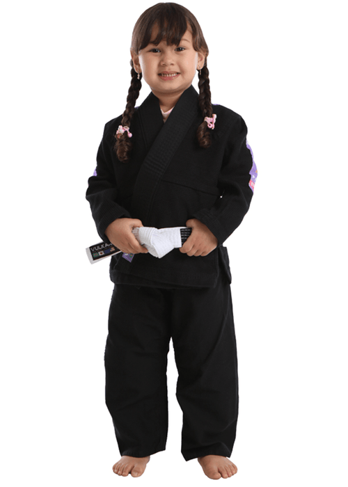 Vulkan - Kids Pro Light Black / Lilac Jiu Jitsu Gi