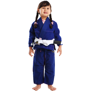 Vulkan - Ultra Light Kids Jiu Jitsu Gi - Blue/Pink - Jitsu Armor