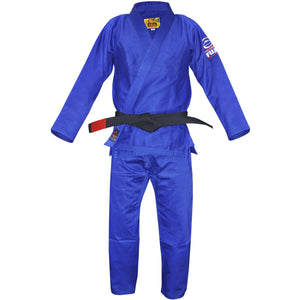 Fuji All Around BJJ Gi - Blue - Jitsu Armor