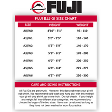 Fuji All Around BJJ Gi - Black - Jitsu Armor