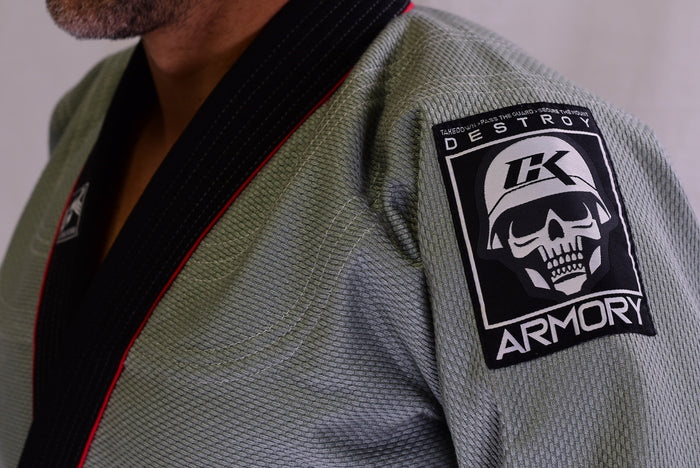 CK Fight Life - Armory Gi - Grey - Jitsu Armor