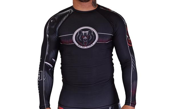 Break Point - Kid's Bear Attack V2 Jiu-Jitsu Rash Guard - Jitsu Armor