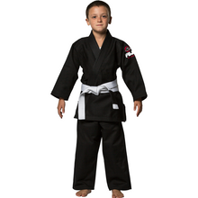 Fuji - All Around Kids BJJ Gi - Black - Jitsu Armor