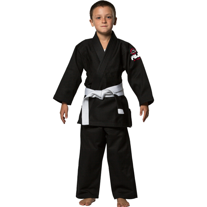 Fuji Sports - All Around Kids BJJ Gi - Black - Jitsu Armor