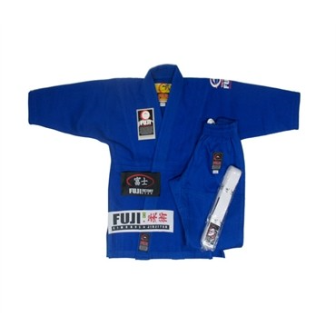 Fuji Sports - All Around Kids BJJ Gi - Blue - Jitsu Armor