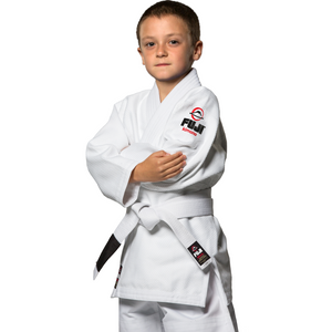 Fuji - All Around Kids BJJ Gi - White - Jitsu Armor