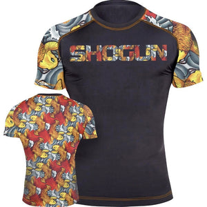 Shogun Fight - Grand Koi Short Sleeve BJJ Rash Guard - Jitsu Armor