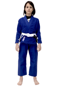 Vulkan - Kids Pro Light Royal Blue / Lilac Jiu Jitsu Gi - Jitsu Armor