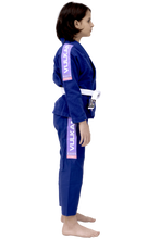 Vulkan - Kids Pro Light Royal Blue / Lilac Jiu Jitsu Gi