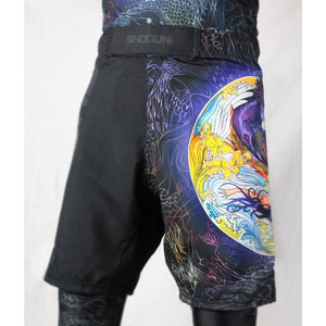 Shogun Tao Fight Shorts - Black - Shogun Fight - Jitsu Armor