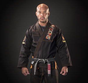 Shogun Fight - Grand Koi Premium Jiu Jitsu Gi - Black - Jitsu Armor