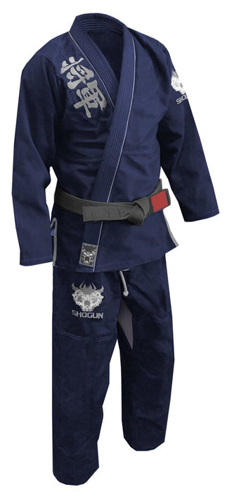 Shogun Fight - 'Kanji' Ultra-Light BJJ Gi - Blue