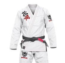 Shogun Fight - 'Kanji' Ultra-Light BJJ Gi - White - Jitsu Armor