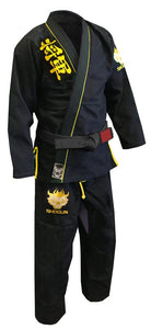 Shogun Fight - 'Kanji' Ultra-Light BJJ Gi - Black