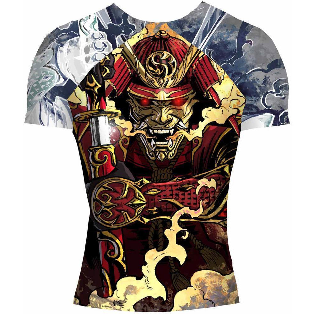 Shogun Fight - Samurai BJJ Rash Guard - Jitsu Armor