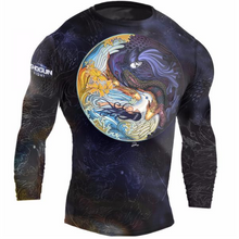 Shogun Fight - Long Sleeve 'Shogun Tao' Rash Guard - Black - Jitsu Armor