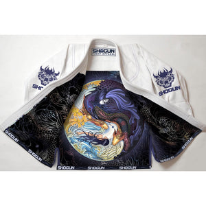 Shogun Fight - 'Shogun Tao' Premium BJJ Gi - White - Jitsu Armor