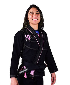 Break Point BP Diamond Girls Jiu Jitsu Gi - Black