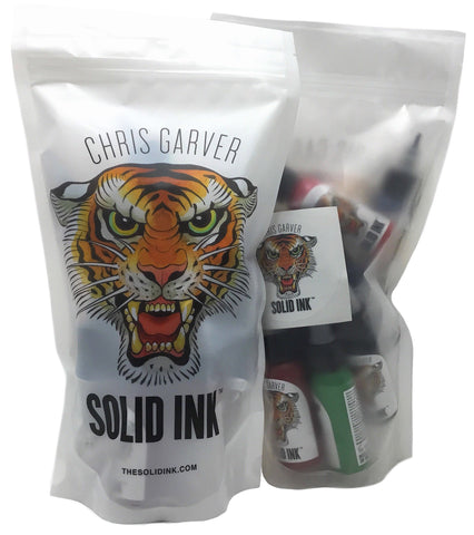 Solid Ink: Chris Garver Set - Twelve 1oz Bottles