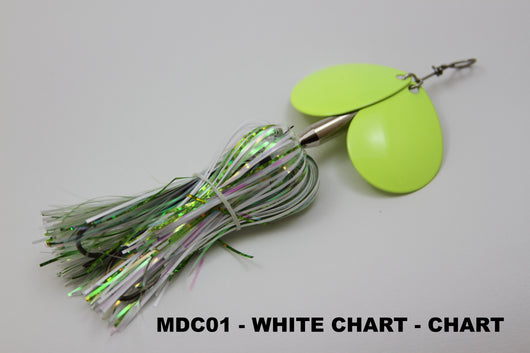 MDC (Micro Double Cowgirl) - Musky Mayhem Tackle llc