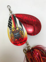 Law Enforcement/Firefighter Double Cowgirl - Musky Mayhem Tackle llc