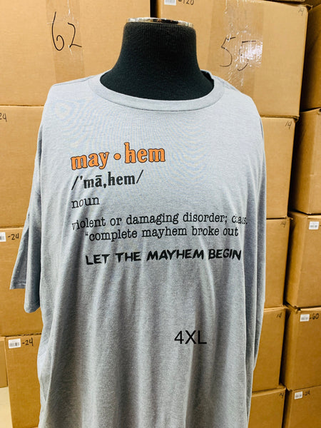 Mayhem Definition T-Shirt