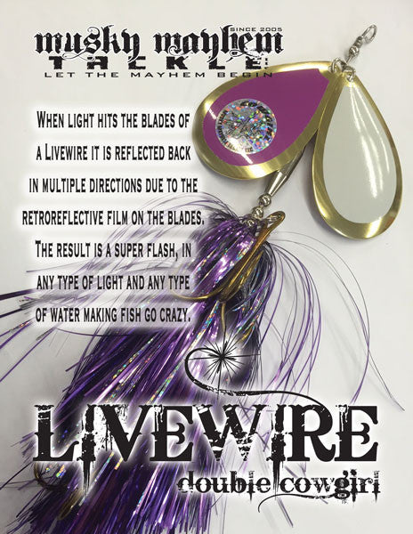 CUSTOM LIVEWIRE DC - Musky Mayhem Tackle llc