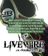 CUSTOM LIVEWIRE JR DOUBLE COWGIRL - Musky Mayhem Tackle llc