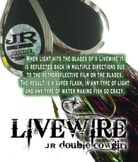 CUSTOM LIVEWIRE JR DOUBLE COWGIRL