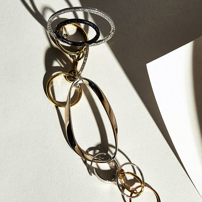 Full Circle: Jewelry Takes Connected Shapes