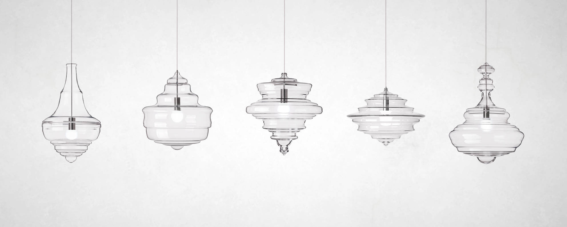 Storied Chandeliers: Lasvit's Neverending Glory Collection