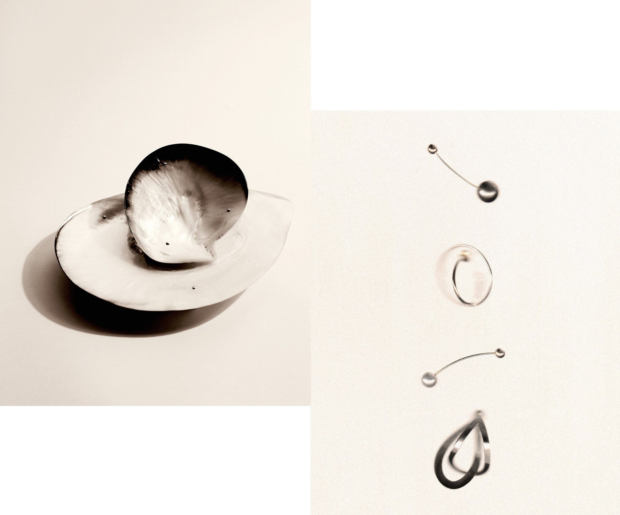 Fine jewelry by Sophie Bille Brahe. Available at The Line.