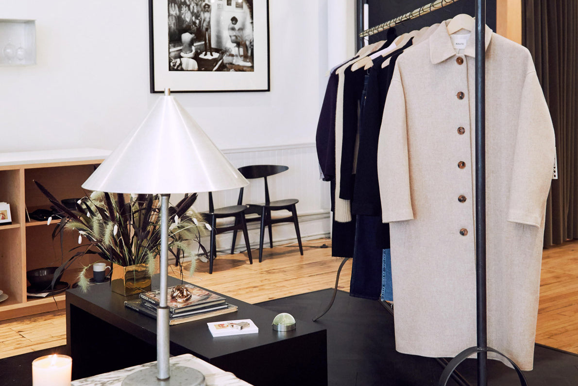 An exclusive shop-in-shop: KHAITE x The Apartment by The Line—New York
