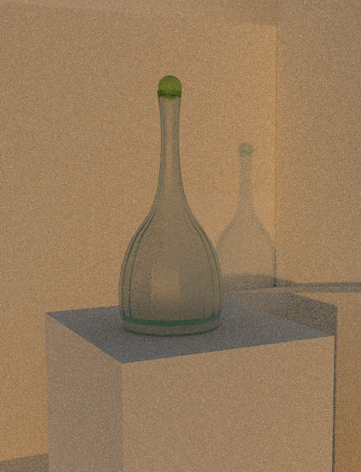 L'Atelier du Vin Decanter with Green Top