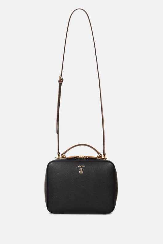 Bi-Color Laura Bag - Black/Luggage