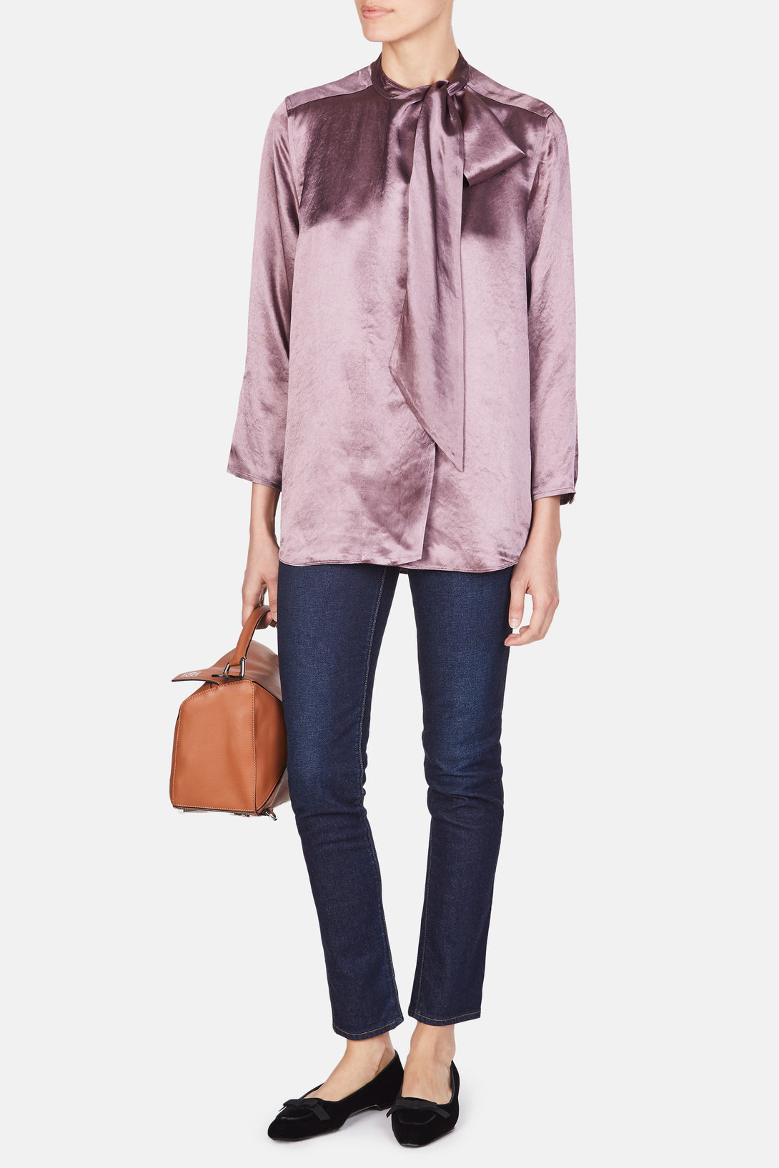 Buy Cheap Sale Manchester Great Sale For Sale Oversized Ruffle Blouse Acne Studios Extremely Sale Online Discount High Quality Official tSJWq4d269