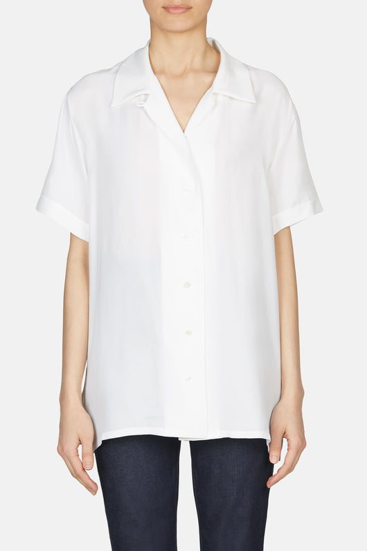 Rellah Button Down Shirt - White